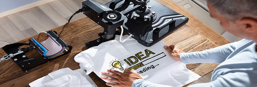 créer un t-shirt